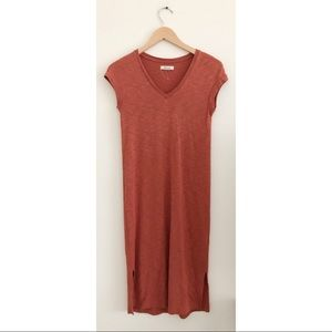 Madewell T-shirt midi dress size XXS